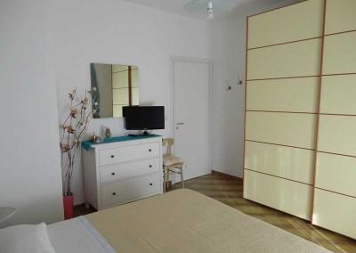 palinuro bed and breakfast Cristina camera con letto matrimoniale Corallo
