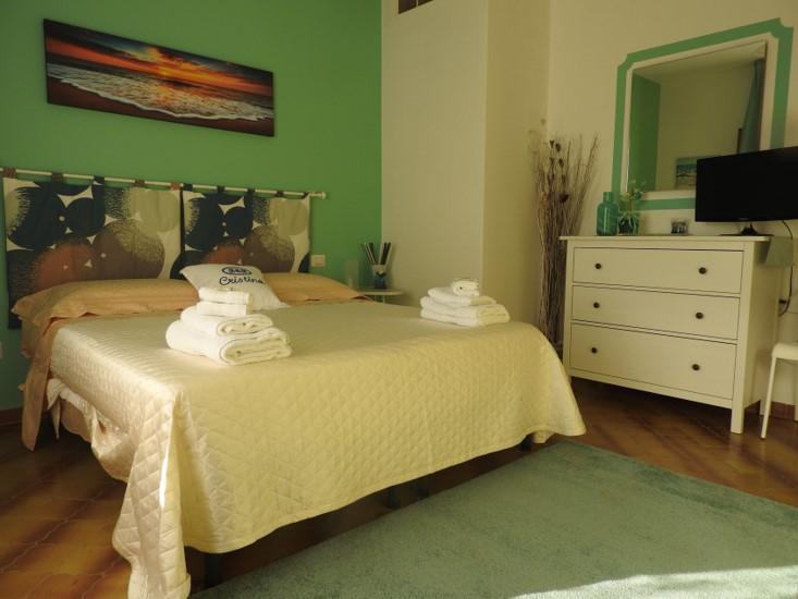 bed and breakfast Cristina a Palinuro camera matrimoniale Corallo